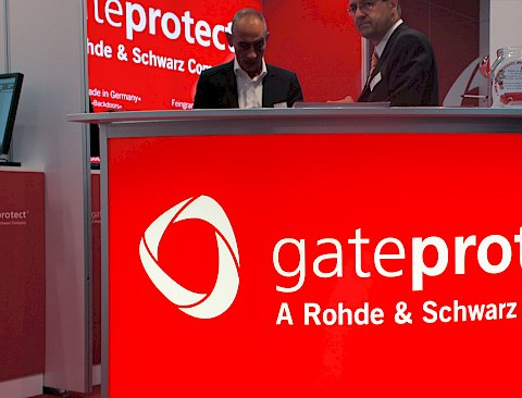 Gateprotect | Messestand